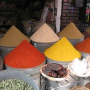 Spices in medina