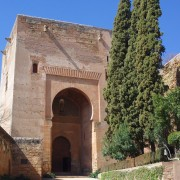 entrance to Alhambra
