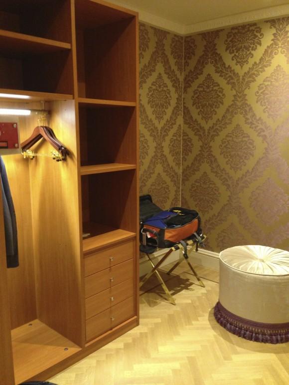 Closet Hotel ai Reali